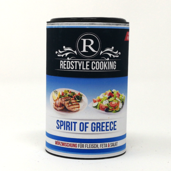 Redstyle Cooking Spirit of Greece - der leckere Ludwig